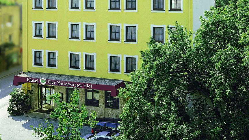 Buitenaanzicht Hotel Der Salzburger Hof