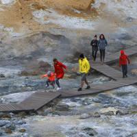Krysuvik geothermisch gebied Reykjanes - Foto: Iceland Travel