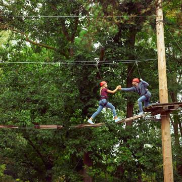 High adventure experience Vakantiepark Center Parcs De Kempervennen