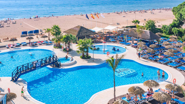 Zwembad Aparthotel Tahiti Playa Suites