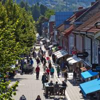 Lillehammer straatbeeld - Foto: Geir Olsen