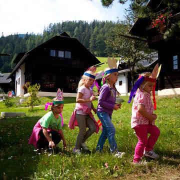 Kinderclub Vakantiepark Kirchleitn Dorf Kleinwild