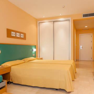 Voorbeeldkamer Hotel Mediterraneo