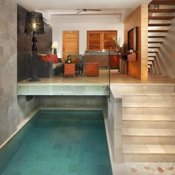 privé zwembad Villa Kayu Raja