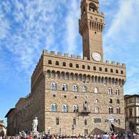 Palazzo Vecchio op ca. 10 minuten wandelen