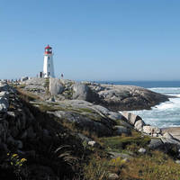 Nova Scotia Peggys Cove