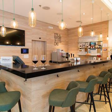 Lobby bar Hilton Garden Inn Davos
