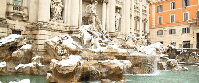 Rome Trevi fontein