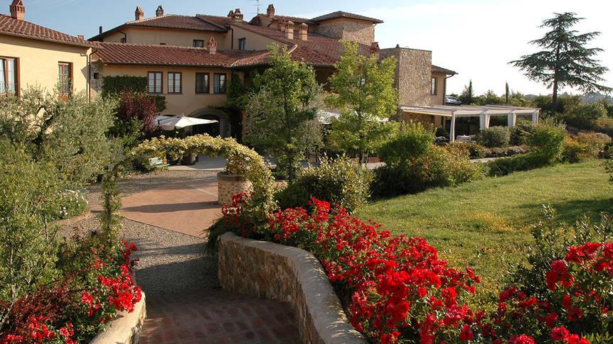 Tuin Hotel Borgo di Cortefreda