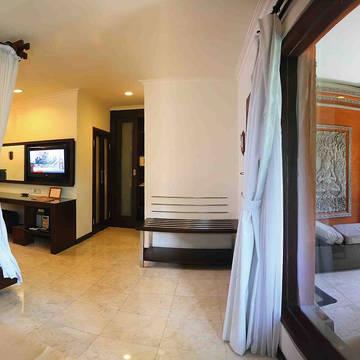 Voorbeeld deluxe garden bungalow Legian Beach Hotel