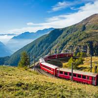 10 daagse busreis, Savognin Zwitserse treinen in Graubünden