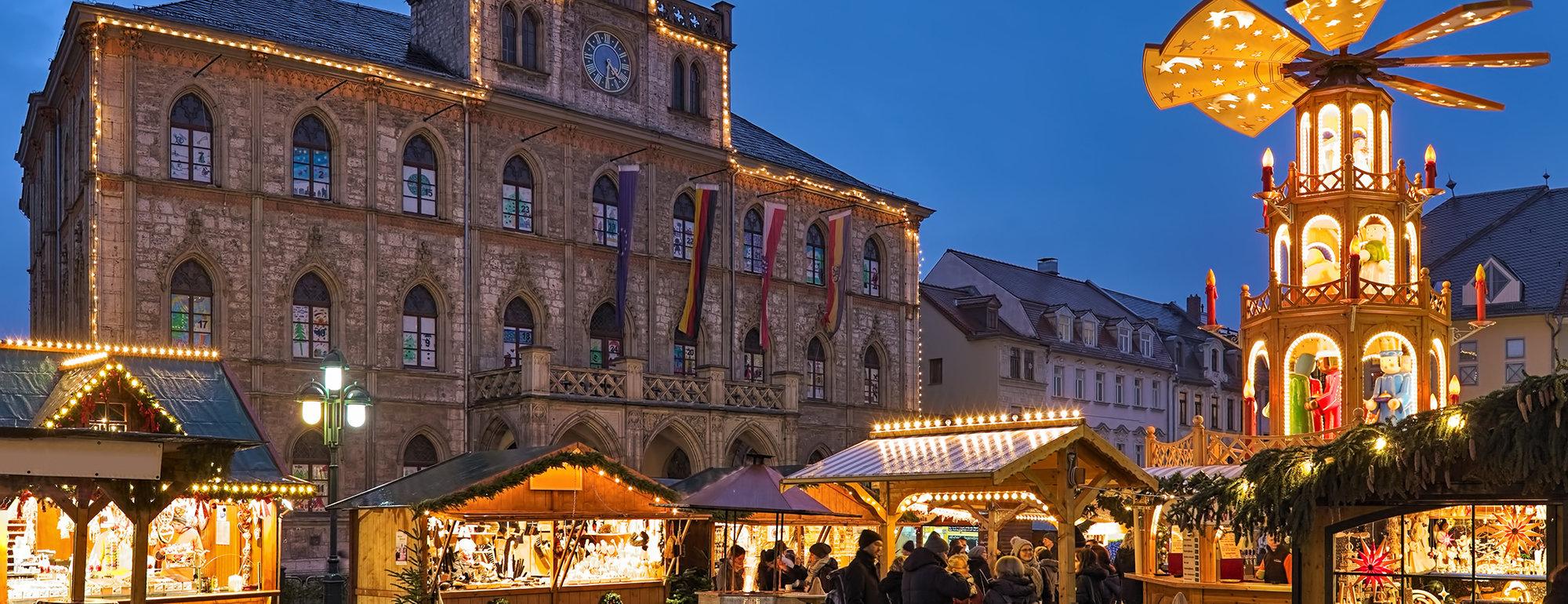 Weimar kerstmarkt