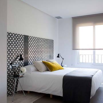 Slaapkamer 3-kamerappartement (max. 6 personen) Appartementen Eric Vökel Gran Via Suites