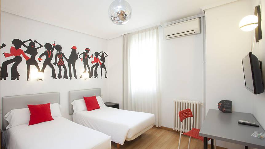 Kamer Hotel Casual Valencia de la Musica