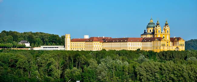 Benedictijner Klooster Stift Melk aan de Donau