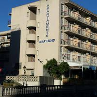 Zonvakantie Appartementen Mar Blau in Calella (Costa Barcelona, Spanje)