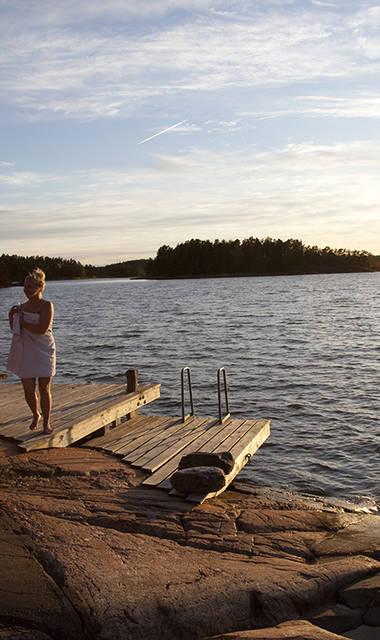 9-daagse fly-drive Finse meren, steden en cultuur