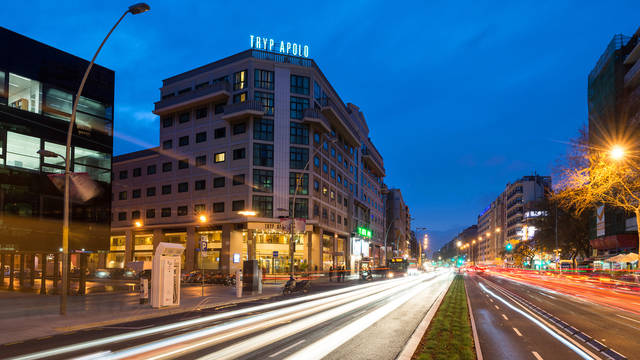 Exterieur Hotel Tryp Apolo