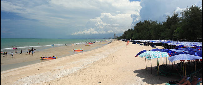 strand bij Cha-am