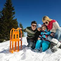 Op wintersport