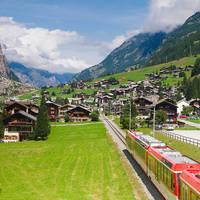 Glacier Express naar Zermatt