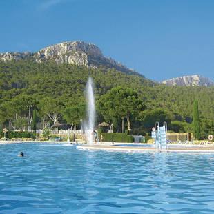 Espagne-Estartit-Castell-Montgri-Piscine