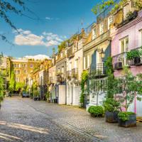 De wijk Notting Hill, op ca. 20 minuten loopafstand van uw hotel!