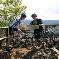 Mountainbikers in de Harz