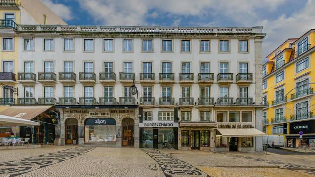 Vooraanzicht Hotel Borges Chiado