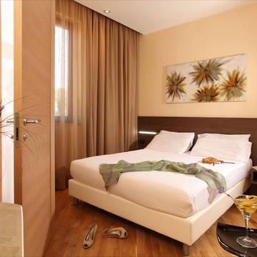 voorbeeld 2-persoonskamer Hotel Villa Mercede