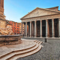 Pantheon op ca. 10 minuten wandelen