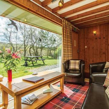 Interieur Wildside Highland Lodges