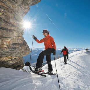 Sneeuwschoenwandelen Crans Montana