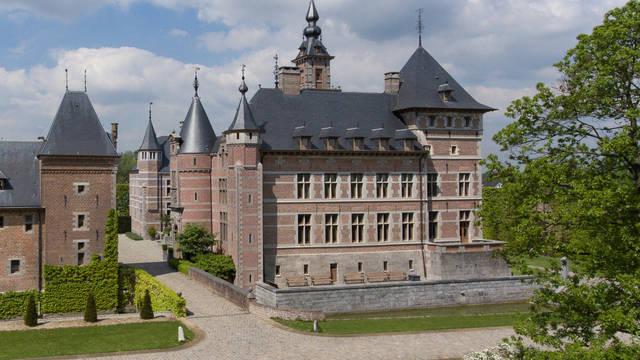 Buitenaanzicht Hotel Kasteel van Ordingen