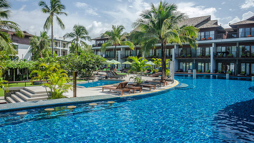Overview Holiday Inn Resort Krabi Ao Nang Beach