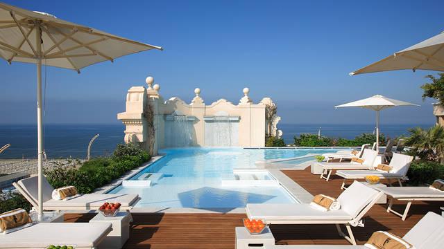 Zwembad Grand Hotel Principe di Piemonte