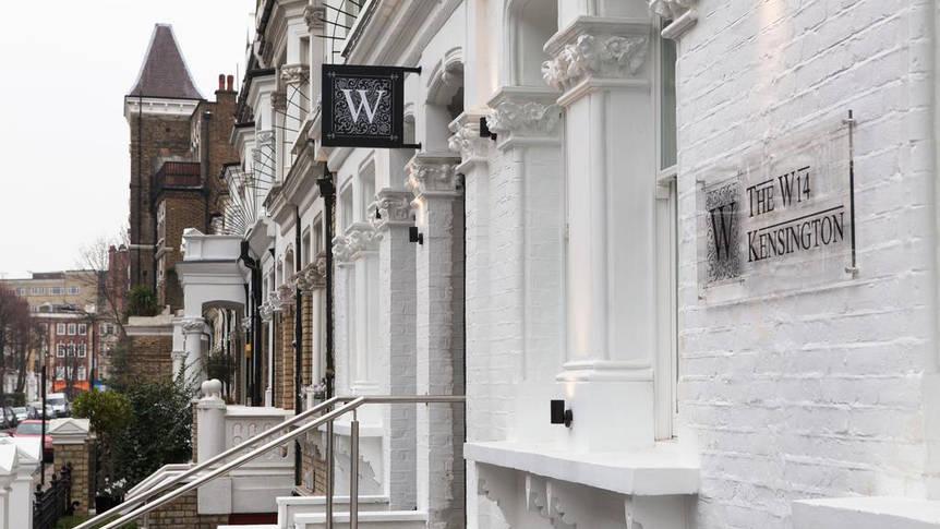 Voorzijde Hotel W14 Kensington