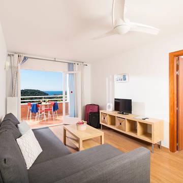 Voorbeeld Zeezicht appartement Appartementen Els Llorers