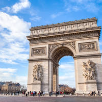 Arc de Triomphe & Champs-Élysées op ca. 20 minuten reizen met de metro!