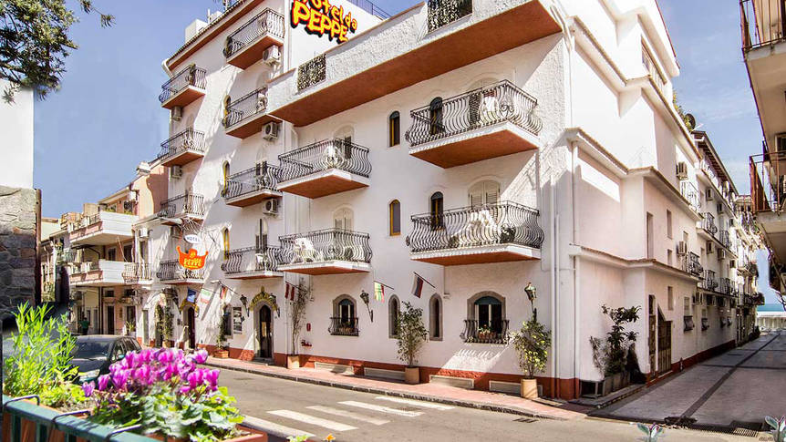 Exterieur Hotel da Peppe