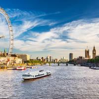 London Eye op ca. 5 minuten loopafstand van het hotel!