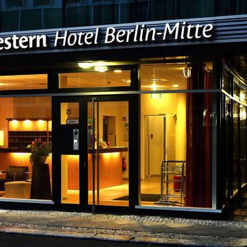 Entree Hotel Best Western Berlin Mitte