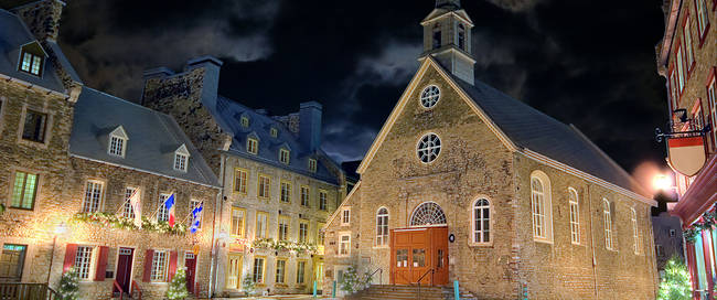 Palace Royale in Quebec city
