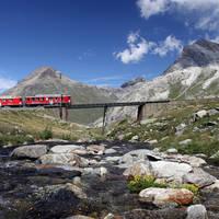 6 daagse treinrondreis Pure schoonheid van Zwitserland Italië