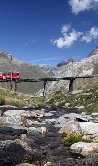 6-daagse treinrondreis Pure schoonheid van Zwitserland & Italië