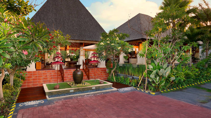 Voorbeeld villa Villa Kayu Raja
