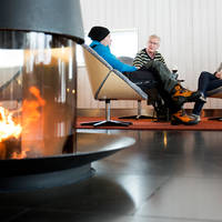 Camp Ripan lounge