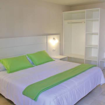 Slaapkamer voorbeeld 2 Appartementen l'Escala Resort