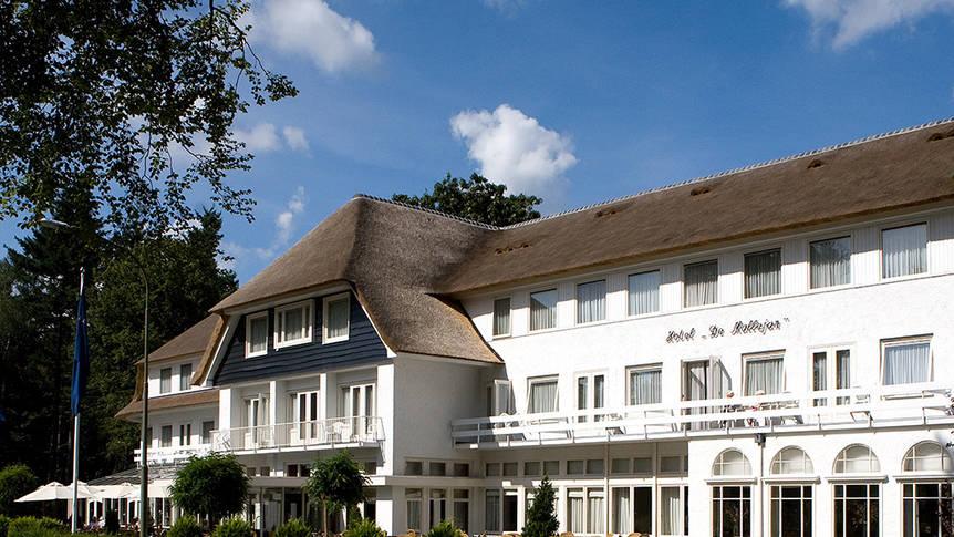 Fletcher Hotel De Mallejan - Buitenaanzicht Fletcher Hotel-Restaurant de Mallejan