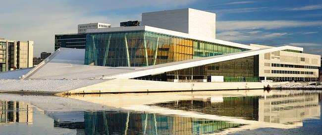 Oslo - Operagebouw